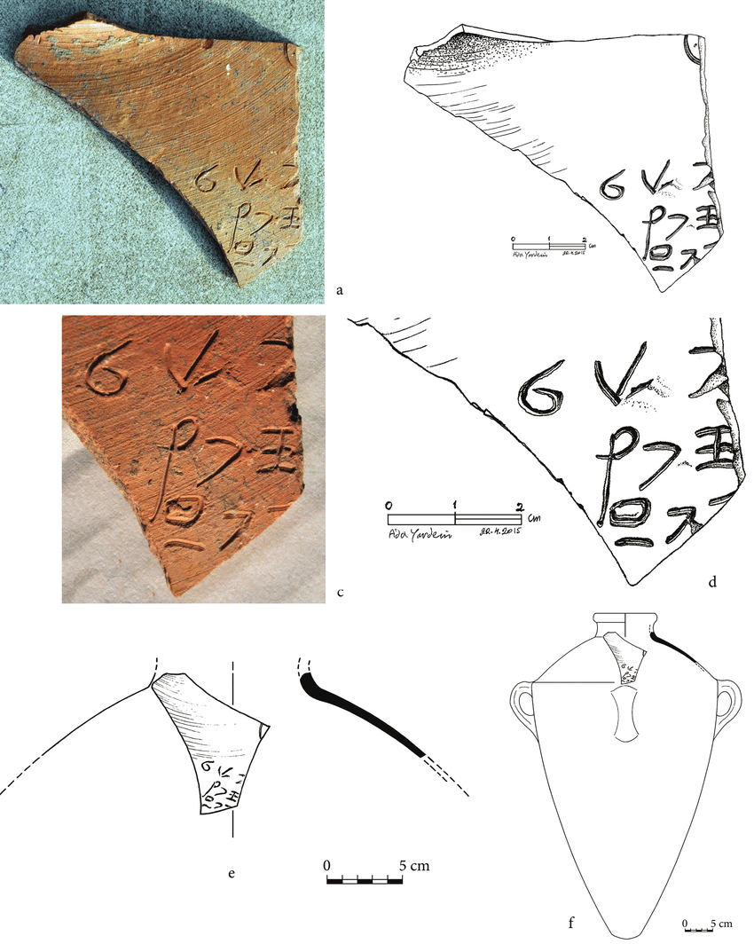 Lachish Jar Sherd | O. Dobovsky, A. Yardeni, and T. Rogovski